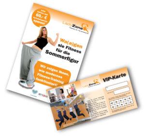 Damen Lady Frauen Fitness-Studio Sommerfigur - VIP-Karte