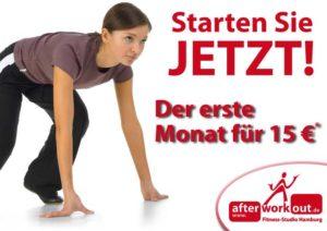 Fitness-Studio Aktion, Marketing-Kampagne, Werbung - Jetzt starten