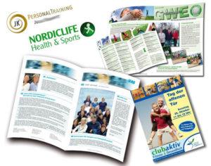 Fitness - Tag der offenen Tür - Flyer, Gutschein, Logo