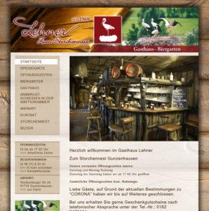 Hastronomie, Restaurant, Hotel - Homepage Webseite