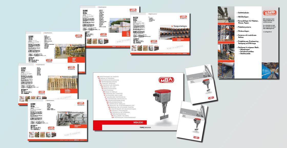 Imagebroschüren Produktflyer Broschüre Corporate Design