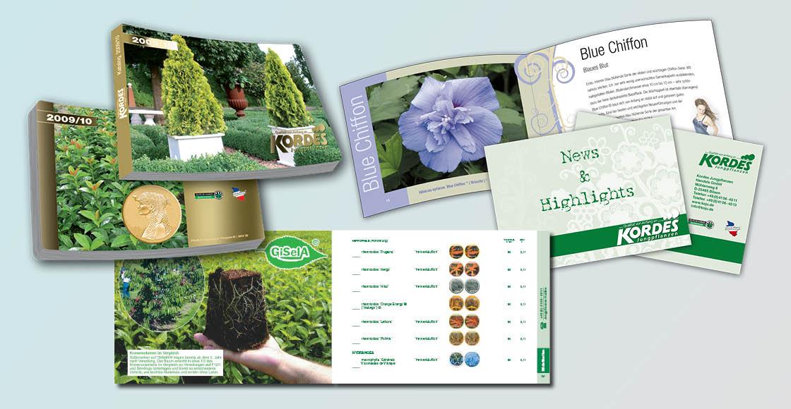 Kataloge Bücher Broschüren Newsletter