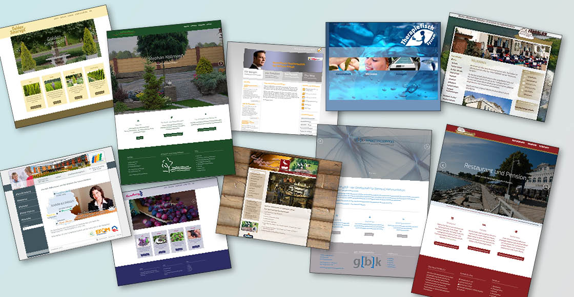 Webdesign CMS WordPress Internetseiten Homepage